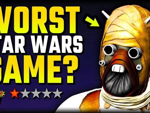 We finally found the WORST Star Wars game…