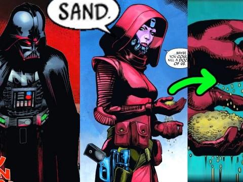 SPACE KAREN USES SAND AGAINST VADER(FULL COMIC)