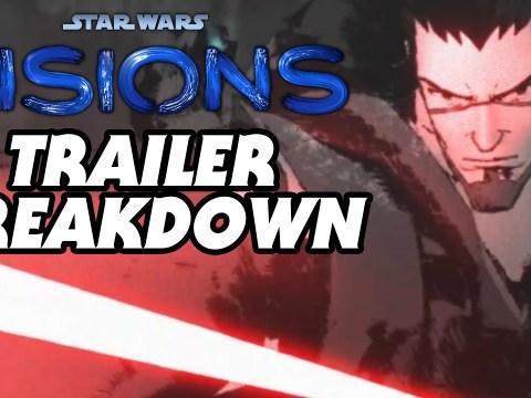 Star Wars: Visions Official Trailer Breakdown
