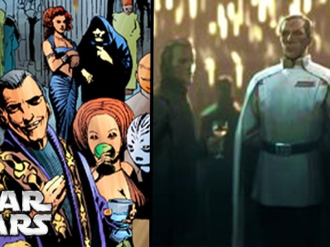 Why Palpatine Hosted Dance Parties At the Imperial Palace