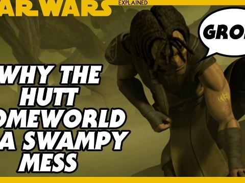 Why the Hutt Homeworld (Nal Hutta) is a Swampy Mess