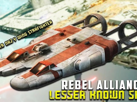 10 Lesser Known Starfighter of the Rebel Alliance