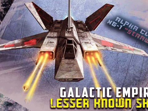 8 Rarest Starfighters in the Galactic Empire