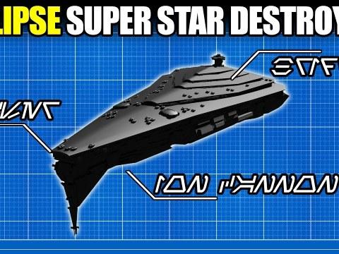 ECLIPSE Super Star Destroyer - Full Breakdown