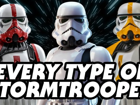 Every Stormtrooper Type in Star Wars Canon