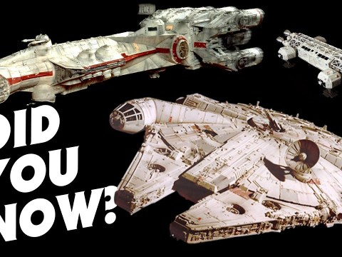 Tantive IV Was Originally Going to be the Millennium Falcon