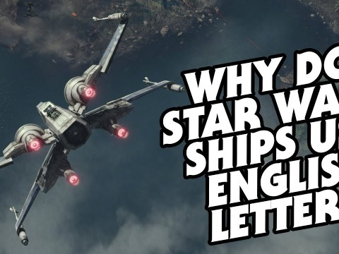 Why Do Star Wars Ships Use English Instead of Aurebesh