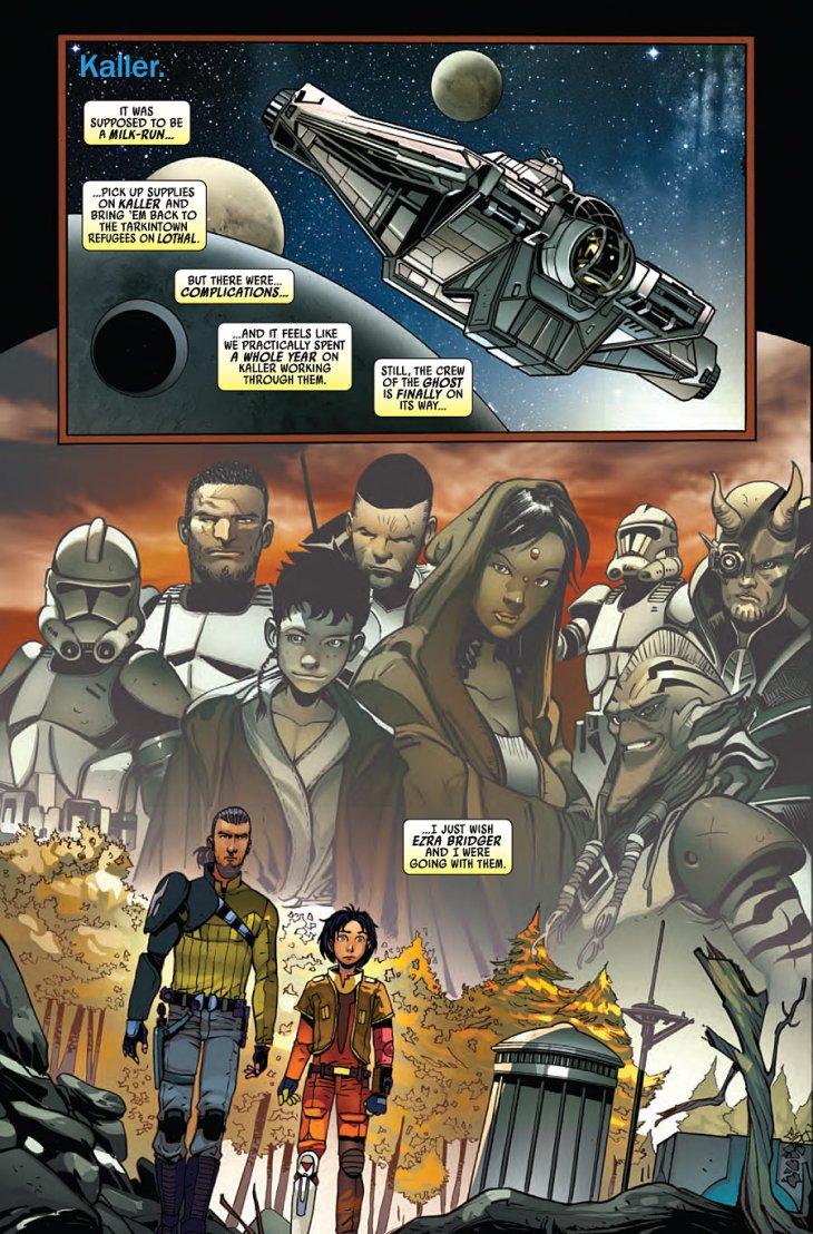 fumetti italiani di star wars broccardo kanan