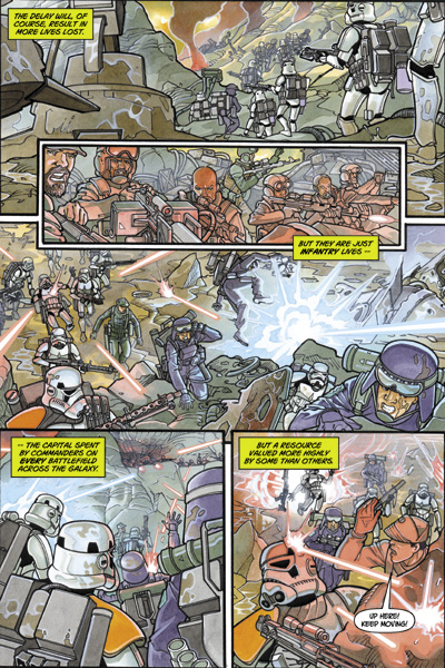 fumetti italiani di star wars fabbri empire