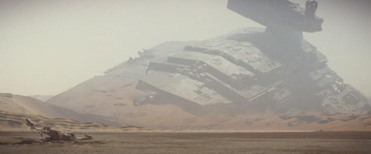 nuovo canone Jakku Star Destroyer