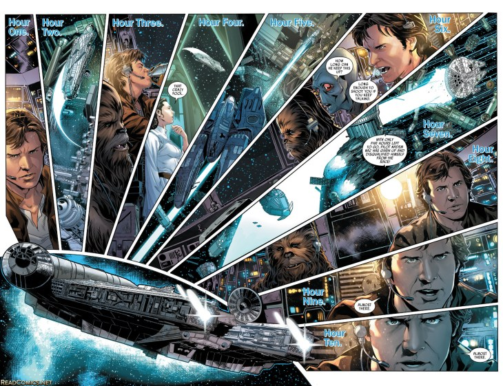 star wars han solo 3 splash page