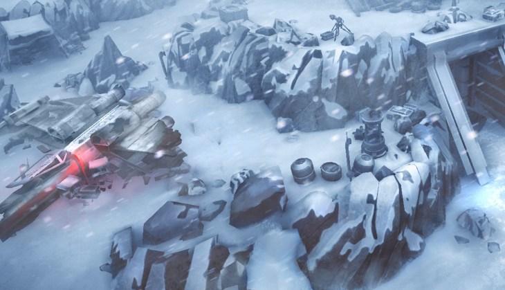 hoth Star Wars: L'Insurrezione