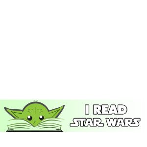 Star Wars Reads frame Yoda