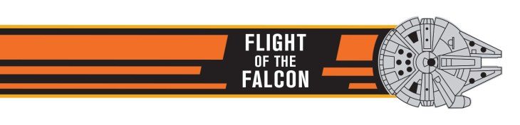 flight of the falcon banner