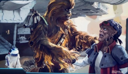 Hondo Chewbacca Galaxy's Edge
