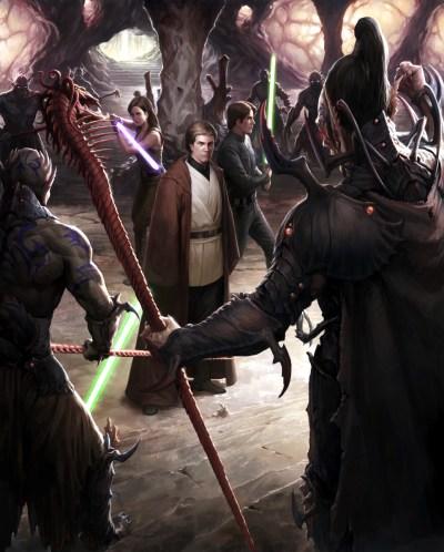NJO The Unifying Force Luke Solo Shimrra
