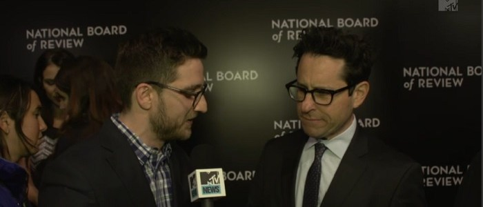 "J.J. Abrams Talks About The Amazing Experience Of Making ""The Force Awakens"""