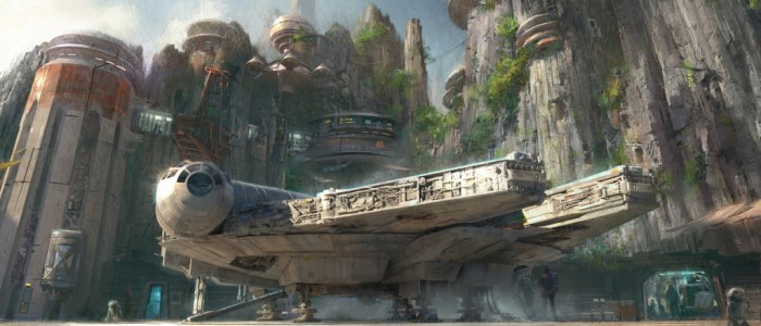 New Concept Images Of The Star Wars Experiance At Disney Parks