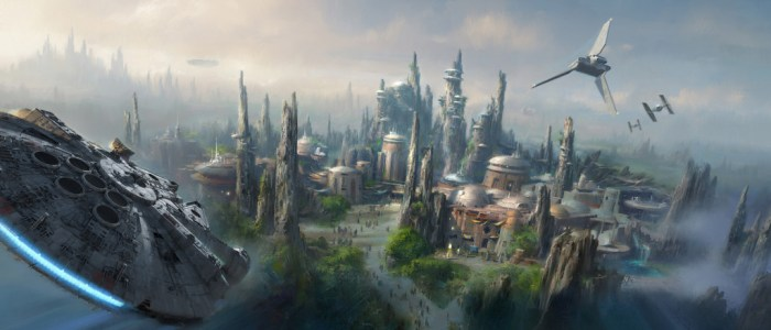 Star Wars Themed Lands Have Officially Been Announced For Disney Parks!