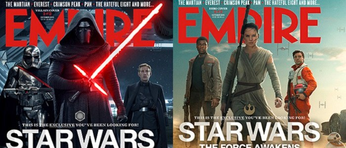 The Force Awakens Appears On Two Covers Of Epmire Magazine!