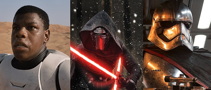 Hear Finn, Kylo Ren And Captain Phasma Speak Form New The Force Awakens Merchandise!