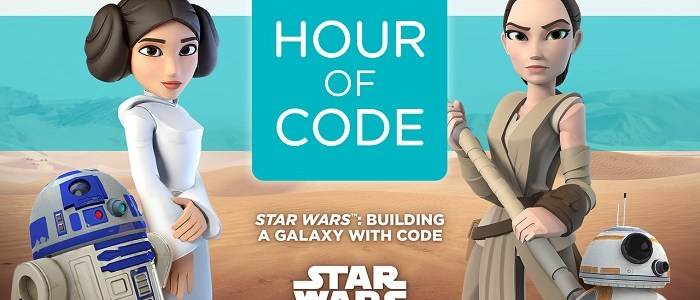 Disney & Star Wars Launch Hour Of Code