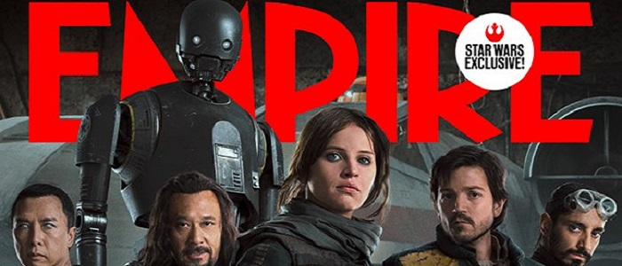 The Heroes Of Rogue One Grace The Cover Of Empire Magazine