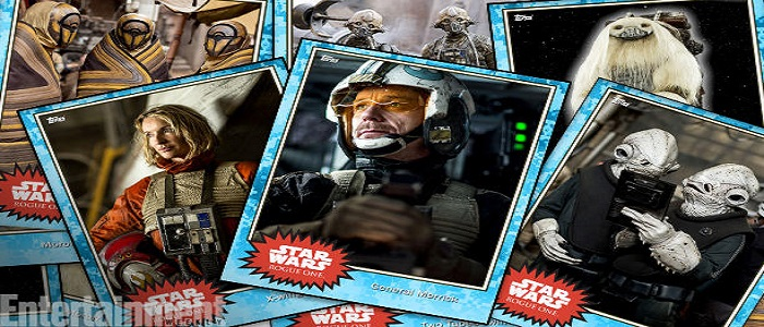New Images Of Rogue One Background Characters From Topps Trading Cards