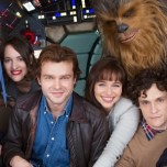 The Han Solo Movie Officially Begins Filming