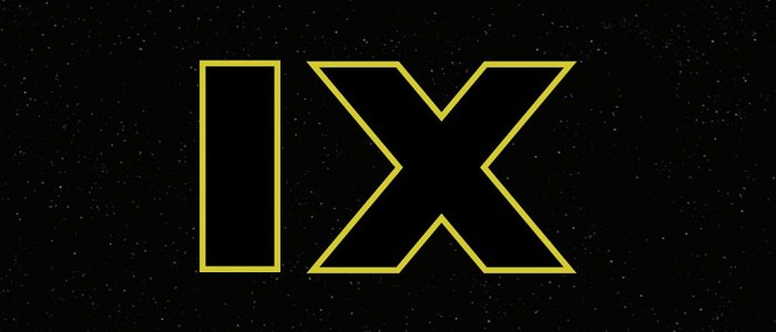 Episode IX Release Date Announced