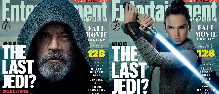 The Last Jedi On The Cover Of Entertainment Weekly