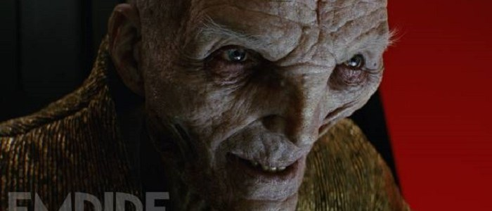 New Image & Details On Snoke From Empire Magazine