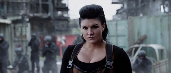 Report That Actress Gina Carano Has Been Cast In The Mandalorian