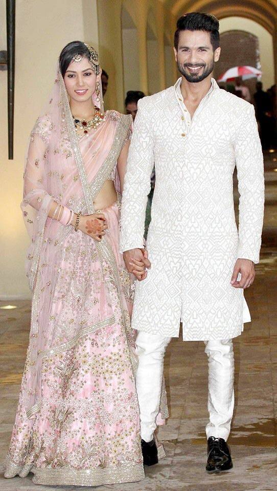 Shahid Kapoor Wedding Photos Pictures Date Wife Name Mira