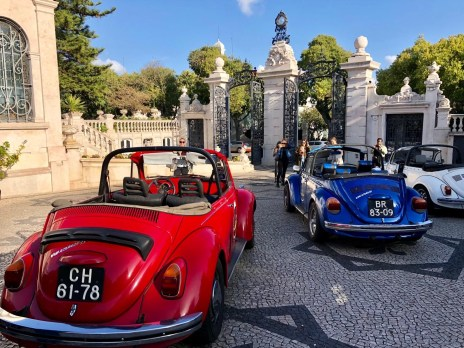 Open top cars Pestana Palace