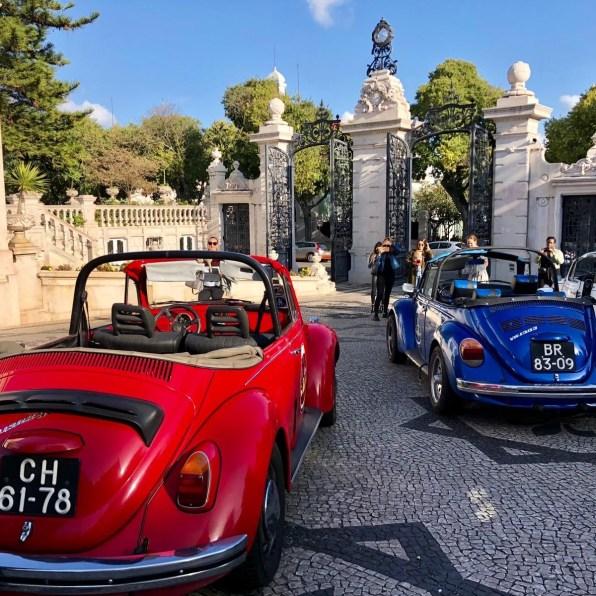 Open top cars Pestana Palace