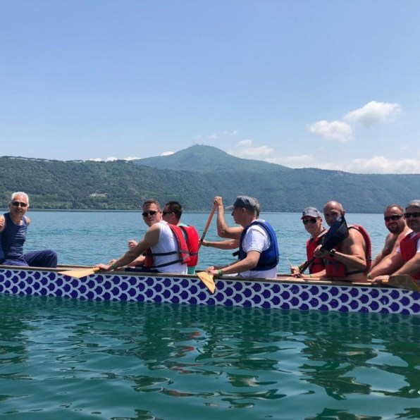 Dragon boat activity