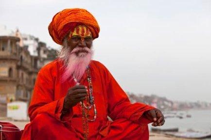 India picture man