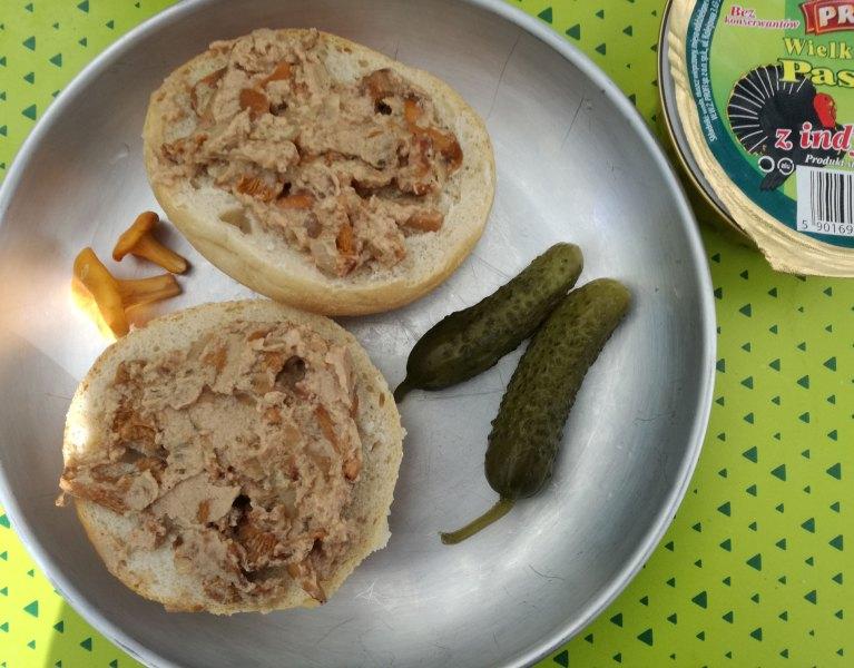 Pasta z kurkami do chleba
