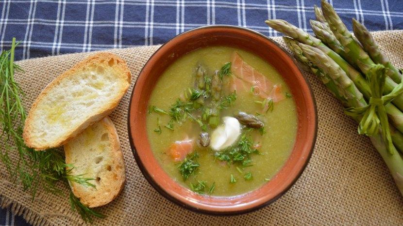 szparagowa zupa krem