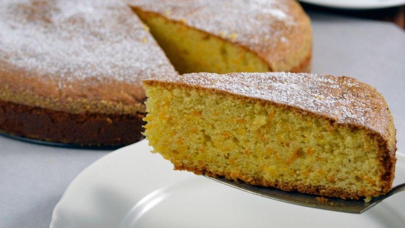 ciasto z dyni i mielonych migdałów