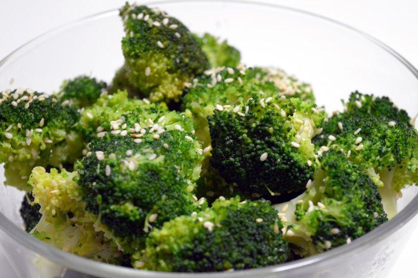 brokuły sezamowe