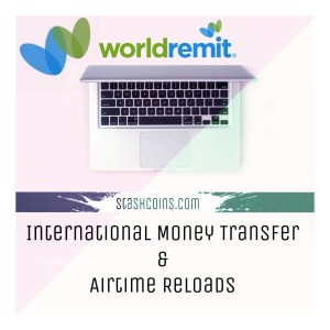 Worldremit money transfer stashcoins.com