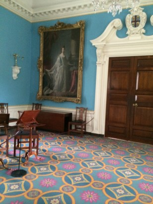 Ballroom of the Govenor's Palace in Williamsburg Where Fictional Character 'Felicity' of American Girl Dolls Danced