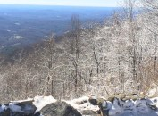 Snow in the North GA Mountains