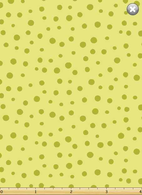 Irregular Dot Light Green