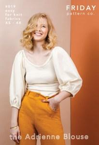Adrienne Blouse Pattern