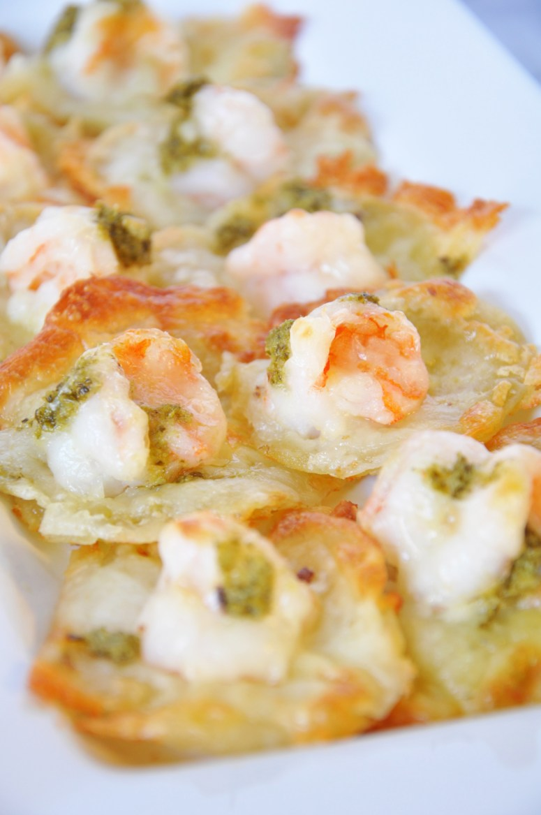 shrimp pizzettes by ©stasiawimmer