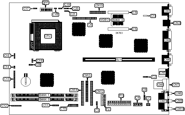 SYSTEM BOARD D1025 Motherboard Settings and Configuration