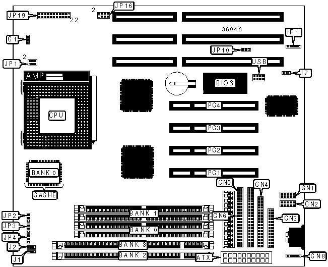 SP-586TB Motherboard Settings and Configuration